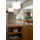 kitchen island end view