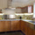 stainless steel farm sink with concrete counter tops